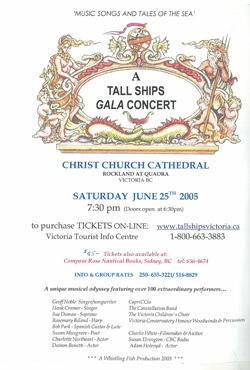 Tall Ships Gala Concert Christ Church Cathedral, Victoria BC